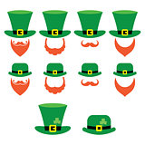 Leprechaun character for St Patricks