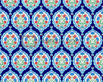 background with seamless pattern three