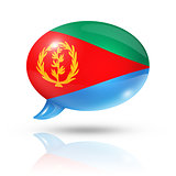 Eritrean flag speech bubble