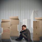 Businessman unemployed