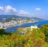 View of Atami and Sagami Bay