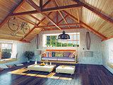 attic interior