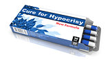 Cure for Hypocrisy - Blister Pack of Pills.