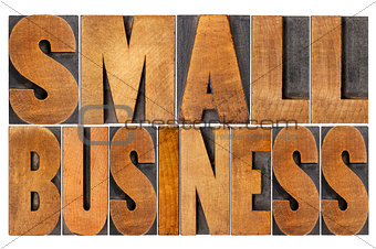 small business in wood type
