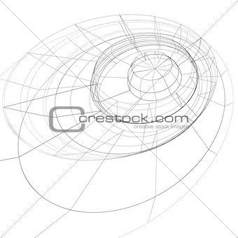 Modern technology black and white stylish background, abstract d
