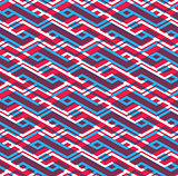 Bright rhythmic textured endless pattern, colorful continuous ar