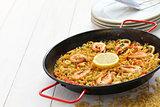 fideua, pasta paella, spanish cuisine