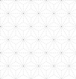 Seamless gray white geometrical pattern