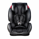 Child safety seat. Baby car seat isolated on white background wi