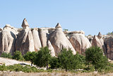 Rock formation Goreme; Turkey