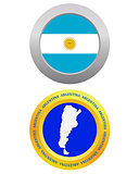 button as a symbol  ARGENTINA
