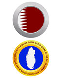 button as a symbol  QATAR