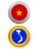 button as a symbol  VIETNAM