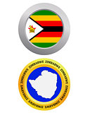 button as a symbol  ZIMBABWE