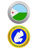 button as a symbol DJIBOUTI