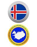 button as a symbol ICELAND