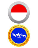 button as a symbol INDONESIA