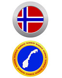 button as a symbol NORWAY