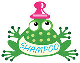 shampoo frog