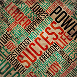Success - Grunge Word Collage.