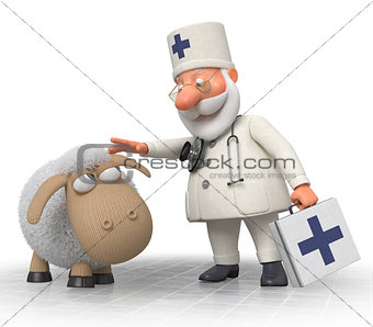 3d doctor veterinarian