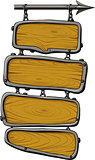 wooden boards color