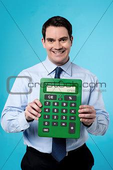 Calculator, made my job easy.