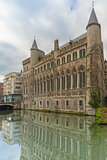 Medieval Castle of Gerald the Devil in Gent, Belgium
