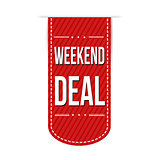 Weekend deal banner design