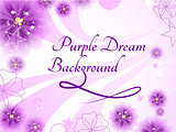 Purple Dream Background