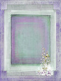 textured slit corner frame