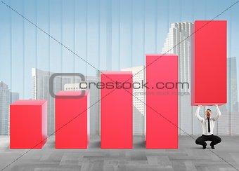 Business strongman lifts statistics