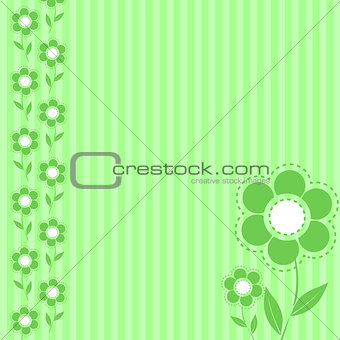 green flower wallpaper