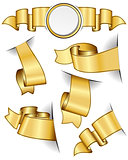 Gold ribbon collection