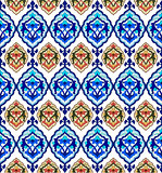 background with seamless pattern version