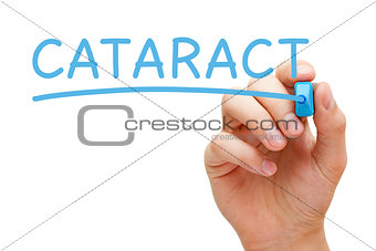 Cataract Blue Marker