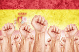 Spain Labour movement, workers union strike