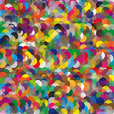 Colorful illustrated a abstraction