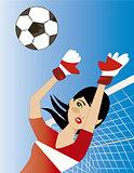 soccer portress