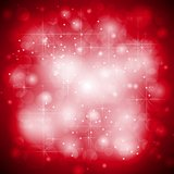 Red shiny sparkling vector background