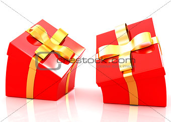 Crumpled gifts