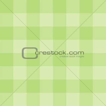 Green plaid tile vector background or seamless pattern
