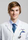 Young and handsome doctor