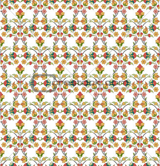 background with seamless pattern five
