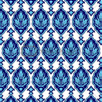 background with seamless pattern one