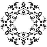 black flowers in the Ottoman art three