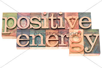 positive energy in wood type