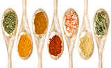healthy seasoning and spices