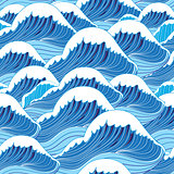 sea wave pattern
