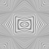 Design monochrome whirl illusion background
